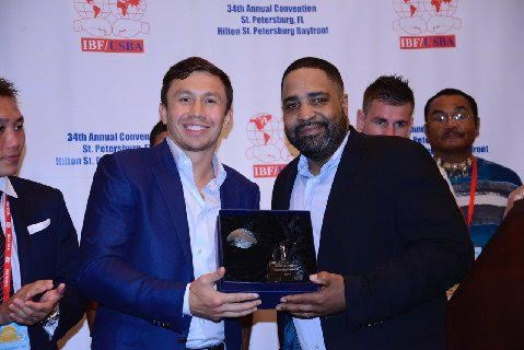 Gennady Golovkin Receives the IBF's Highest Honor