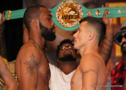 Gary Russell Jr., Oscar Escandon - Gary Russell Jr will successfully defend his WBC Featherweight title, but Oscar Escandon will not be a walk in the park.