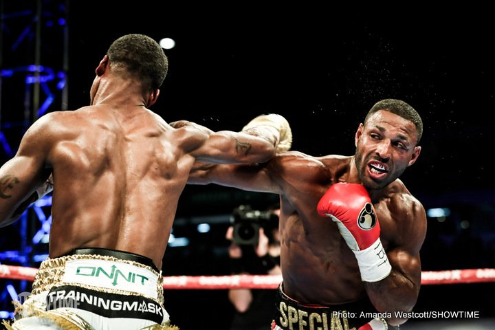 Who has a better chance of ruling the world again: Amir Khan or Kell Brook?