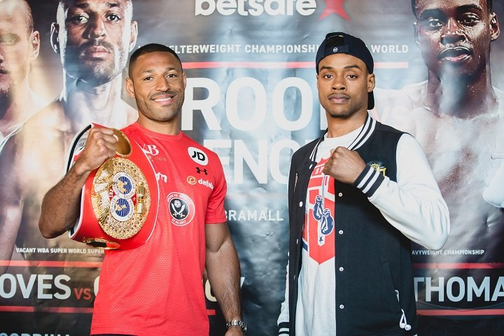 Brook vs. Spence: Quotes, Interviews & Videos