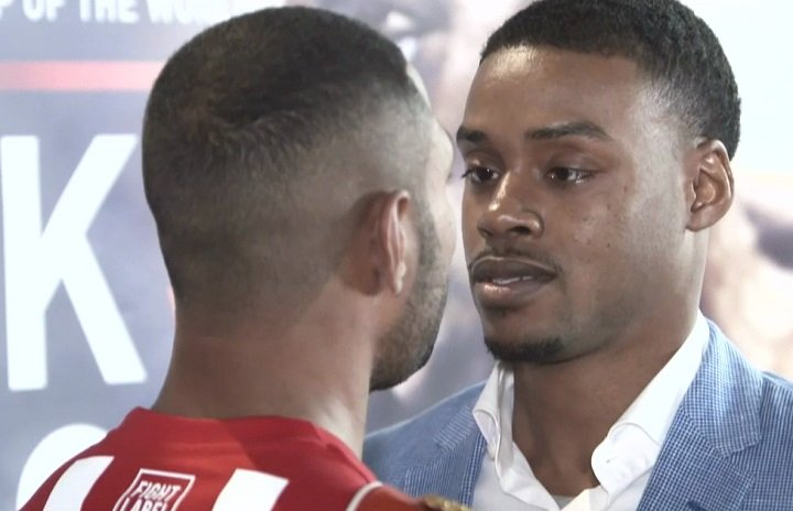 Kell Brook defends against Errol Spence this Sat. on Showtime
