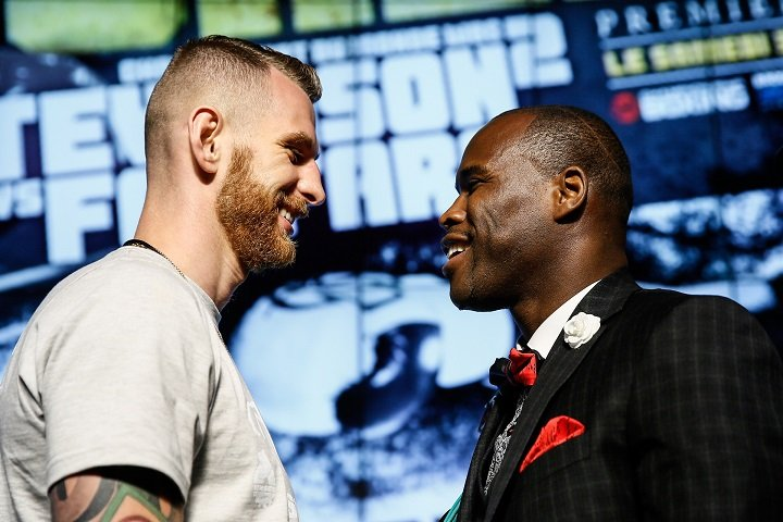 Andrzej Fonfara - WBC Light Heavyweight World Champion Adonis Stevenson and Andrzej Fonfara sounded off at the final press conference on Tuesday at Montreal Casino for their 175-pound rematch this Saturday live on SHOWTIME from Bell Centre.