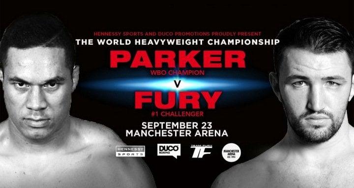 Hughie Fury Joseph Parker Tyson Fury Boxing News