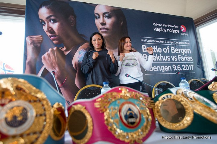 Cecilia Braekhus Erica Farias Boxing News Boxing Results