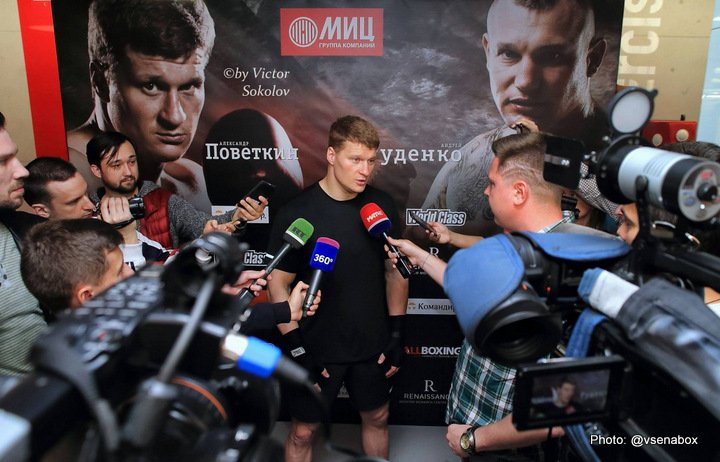 Alexander Povetkin Andriy Rudenko Boxing News