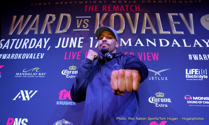 Andre Ward Sergey Kovalev Boxing News Top Stories Boxing