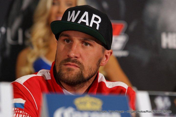 Sergey Kovalev Vyacheslav Shabransky Boxing News