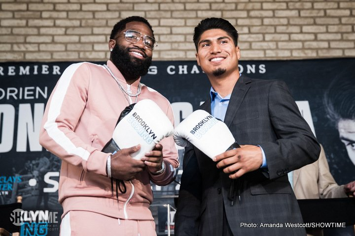 Adrien Broner, Mikey Garcia - Adrien Broner meets Mikey Garcia this Saturday night on SHOWTIME in what could be the best fight this year. This is a fight of a 3-weight world champion against a 4-weight world champion. The last time this type of thing happened was Mayweather vs. Pacquiao. With that in mind, this fight probably deserves more hype than it has gotten.
