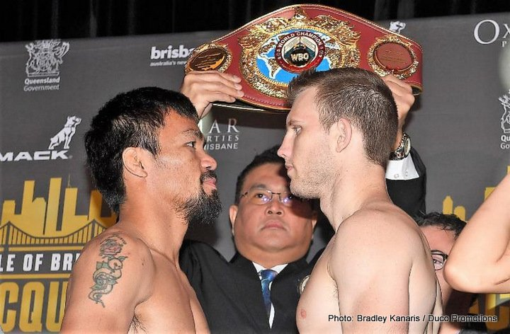 Jeff Horn, Manny Pacquiao - Boxing News