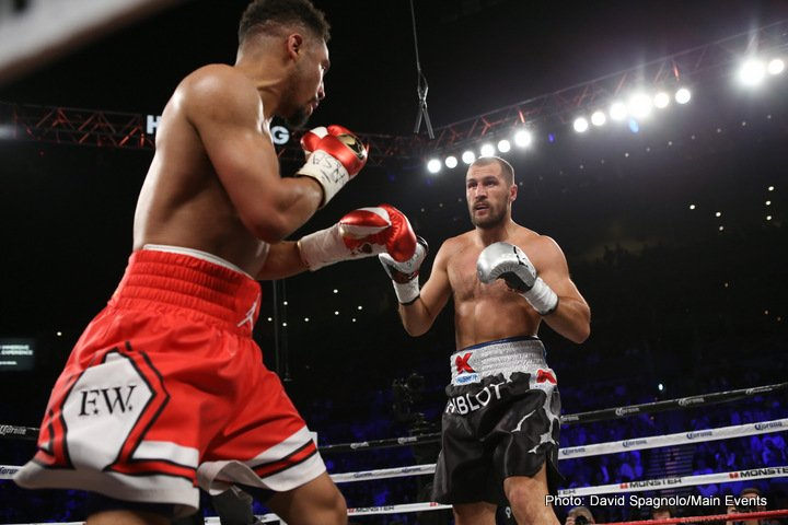Andre Ward, Sergey Kovalev - We have brought conclusion in a manner their earlier engagement did not offer us, in its bitter end. I was rather disappointed to see the fight end earlier than what I thought it should have been allowed to end.  I pulled through a replay a bout to further assess the low blows which the Kovalev camp has raised to attention.