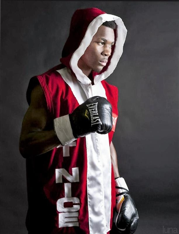 """Toka Kahn Clary - Featherweight prospect Toka """"T-Nice"""" Khan-Clary's (22-1-0-1, 15 KOs) life, especially his childhood, was extremely difficult, to say the least, yet no matter what kind of daunting obstacles he has had to face, he always stayed focused and figured a way to overcome them."""