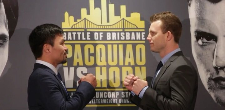 Jeff Fenech Jeff Horn Manny Pacquiao Boxing News