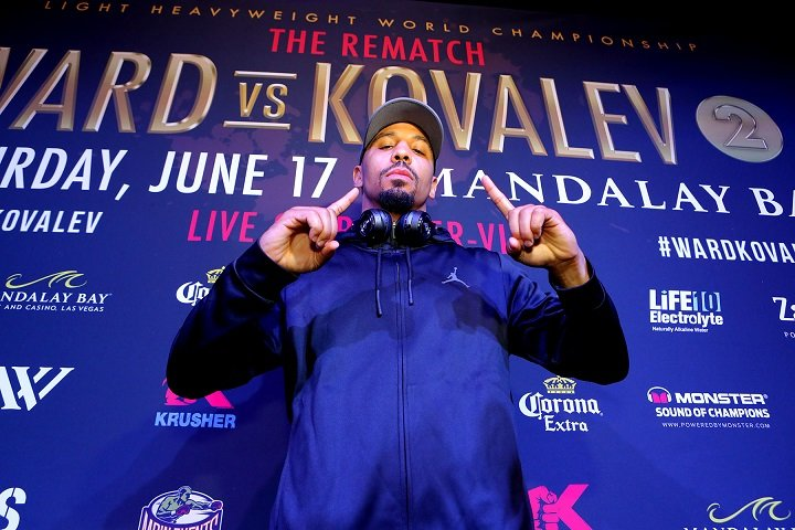Ward-Kovalev II grand arrival quotes for Saturday