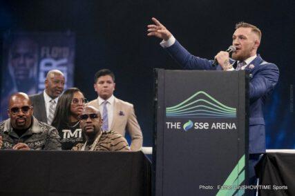 Conor McGregor, Floyd Mayweather Jr - Boxing News