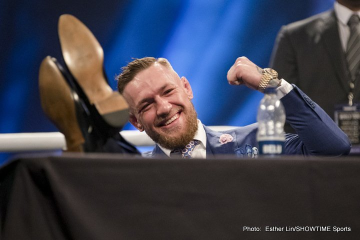 "Conor McGregor - Heavyweight great Lennox Lewis, who occasionally works as a guest commentator now that his own boxing career has ended, is not looking forward to this Saturday's big, heavily hyped Floyd Mayweather-Conor McGregor crossover fight. In fact, in speaking with BBC Sport, Lewis referred to the fight as ""a farce."""