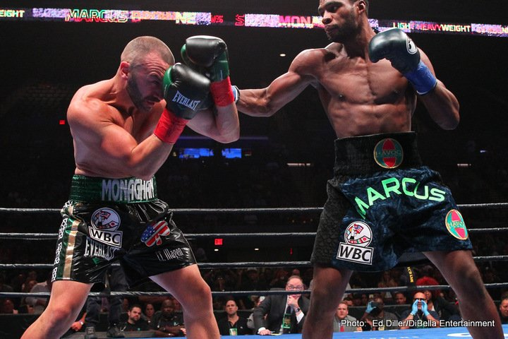 Marcus Browne Sean Monaghan Boxing News Boxing Results
