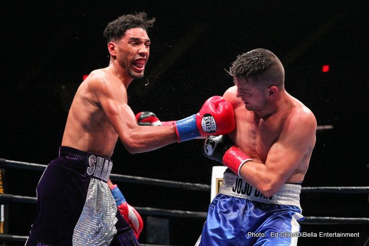 Jamal James Jo Jo Dan Boxing News Boxing Results