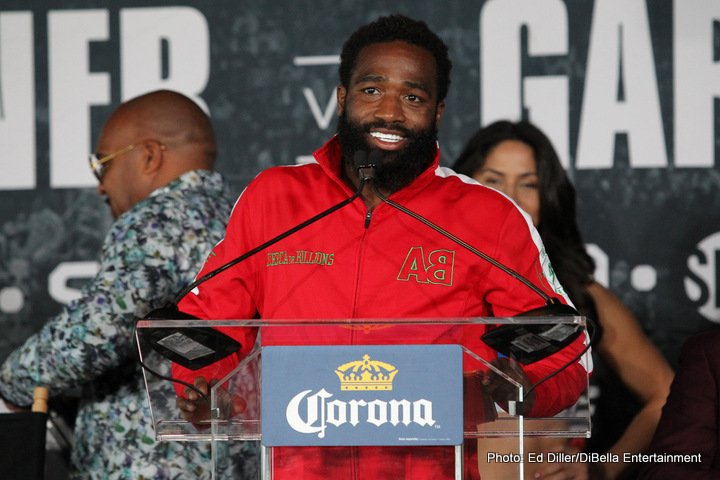 Adrien Broner, Jessie Vargas - Four-division champion Adrien Broner will battle former welterweight world champion Jessie Vargas in the 12-round main event of a SHOWTIME tripleheader on Saturday, April 21 in an event presented by Premier Boxing Champions from Barclays Center, the home of BROOKLYN BOXING™.
