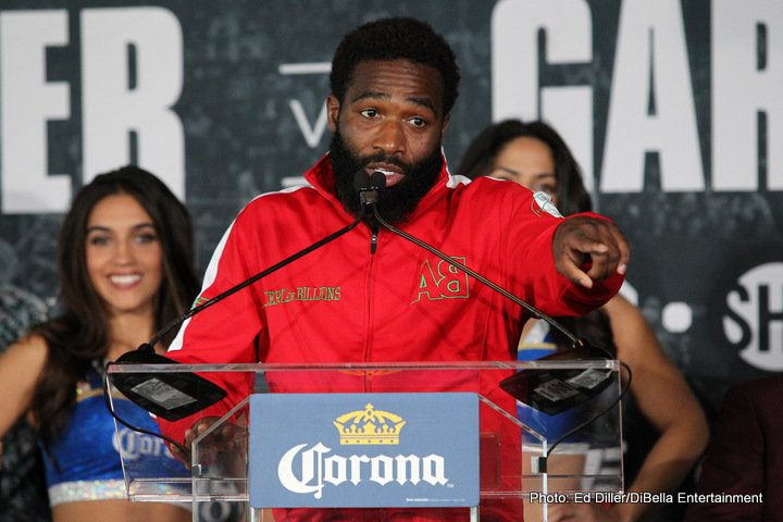 "Omar Figueroa - Adrien Broner still talks a good game, even a great one, and ""The Problem,"" as the former four-weight champ is known, remains a big draw – one still big enough to headline a big card. Broner, attempting to get back to winning ways following his July 2017 points loss to Mikey Garcia, will face rough and tough Omar Figueroa at The Barclays Centre in Brooklyn on April 21."
