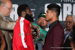 Adrien Broner, Jermall Charlo, Jorge Sebastian Heiland, Mikey Garcia - Four-division world champion Adrien Broner and three-division world champion Mikey Garcia went face-to-face Thursday at the final press conference two days before they headline a Premier Boxing Champions event Saturday, July 29 live on SHOWTIME from Barclays Center, the home of BROOKLYN BOXING®.