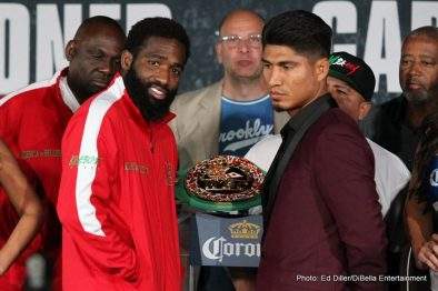 Adrien Broner Jermall Charlo Jorge Sebastian Heiland Mikey Garcia Boxing News Top Stories Boxing