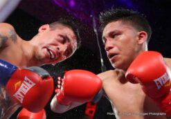 """Rene Alvarado - In a heart and soul performance, rugged warrior Rene """"Gemelo"""" Alvarado (25-8, 17 KOs) from Managua, Nicaragua triumphed over Maracaibo, Venezuela's Roger """"The Kid"""" Gutierrez (15-1-1, 11 KOs) with a technical knockout victory that handed Gutierrez his first career loss as the main event on Boxeo Estelar. The fighters left nothing behind on the mat, Alvarado giving Gutierrez a hard time and a bloody right eye. Gutierrez's corner waved the fight off at 1:34 in the seventh round of the super featherweight bout."""