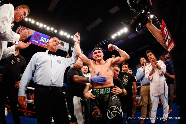 Keenan Smith -  Ivan Baranchyk went the distance with Keenan Smith in front of Baranchyk's adopted hometown in the main event of a quadrupleheader featuring eight returning fighters on Friday's ShoBox: The New Generation from Buffalo Run Casino & Resort.