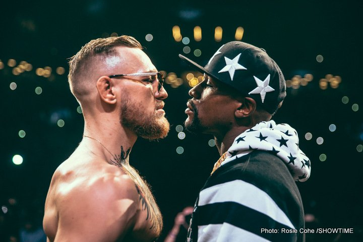 "Conor McGregor - It has today been announced how the big, heavily hyped ""Super Fight"" between Floyd Mayweather and Conor McGregor will be televised in the UK by Sky Sports Box Office. Sky defeated BT Sports, Box Nation and ITV to bag the exclusive rights to the August 26 bout in Las Vegas and big numbers are expected to be generated despite the fight being set to take place at around 5AM UK time."