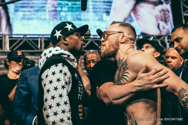 """Conor McGregor, Floyd Mayweather Jr - By Classic Entertainment & Sports CEO Jimmy Burchfield Sr.: Everywhere I go, people ask me what I think about the big fight on Aug. 26th between Floyd Mayweather Jr., the pound-for-pound greatest boxer of our generation, and Conor McGregor, MMA's """"notorious"""" bad boy and No. 1 draw worldwide."""