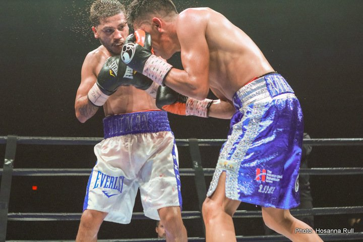 Chris Avalos Miguel Flores Boxing News Boxing Results