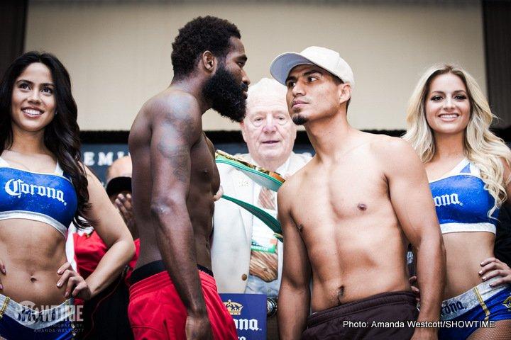 Adrien Broner, Mikey Garcia - Weigh-In Results