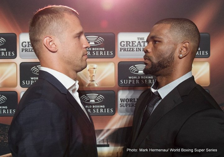 Mike Perez - WBC World Champion Mairis Briedis (22-0, 18 KOs) and Mike Perez (22-2-1, 14 KOs) faced each other at a press conference in Riga ahead of Saturday's Ali Trophy Quarter-Final clash at Arena Riga, Latvia.