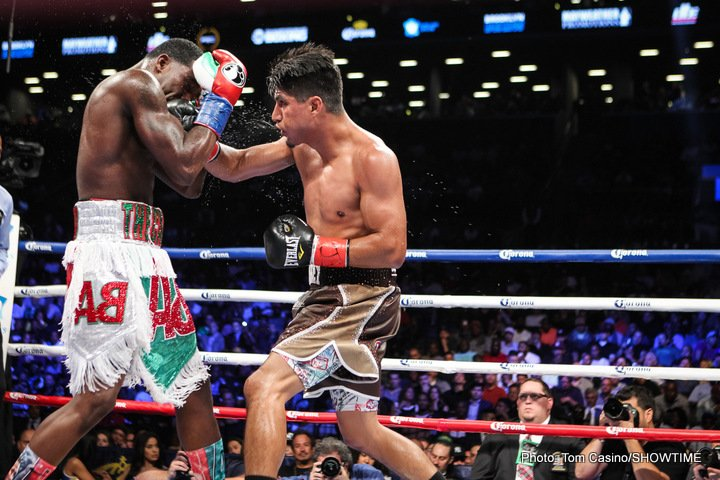 Adrien Broner Mikey Garcia Boxing News Boxing Results