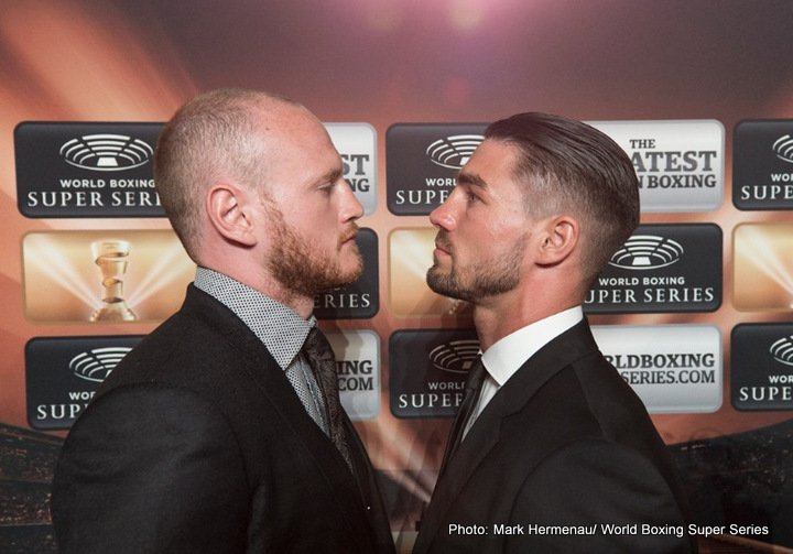 Jamie Cox - George Groves reckons he is used to the pressure that could break his World Boxing Super Series rivals.