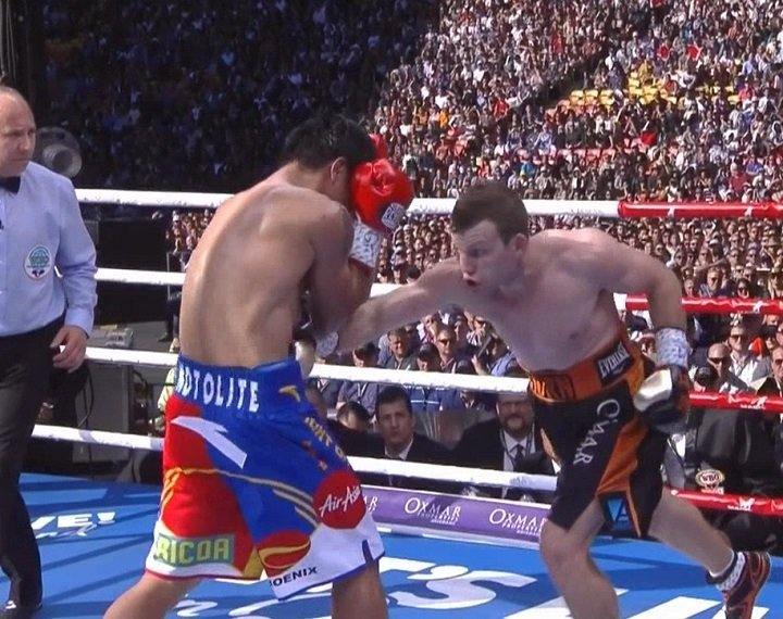 Jeff Horn - Jeff Horn and his team are more than happy with the recent news that the WBO will officially re-score the July 2 Manny Pacquiao fight that saw Horn take the WBO welterweight title via a somewhat controversially received unanimous decision. The WBO will take a second look at the fight, but the organisation has made it clear they will not look to change the result: Horn WU12 Pacquiao will stand.
