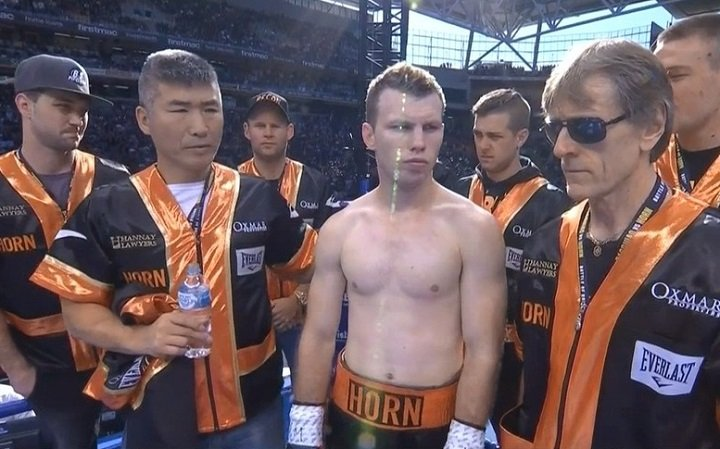 Gary Corcoran Jeff Horn Press Room