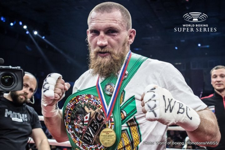 Dmitry Kudryashov - The World Boxing Super Series is delighted to present the seventh of eight participants in the cruiserweight division. Dmitry Kudryashov has joined a star-studded tournament line-up that features the four reigning world champions Oleksandr Usyk (WBO), Mairis Briedis (WBC), Murat Gassiev (IBF) and Yunier Dorticos (WBO) as well as former champions Marco Huck and Krzysztof Wlodarczyk. The Russian Hammer (21-1, 21 KOs) enters the Muhammad Ali Trophy with a fearsome KO ratio of 94 %, with all of his 21 victories coming by the way of knockout.