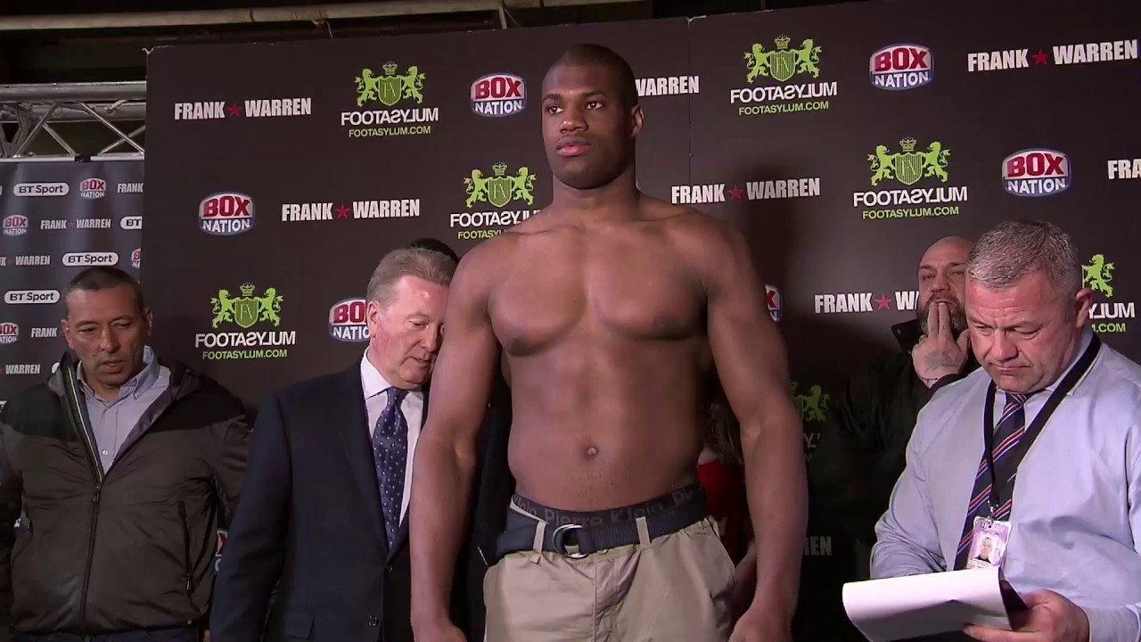 Daniel Dubois Hughie Fury Boxing News Boxing Results Top Stories Boxing
