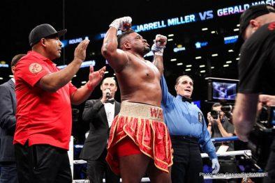 Gerald Washington Jarrell Miller Boxing News Boxing Results
