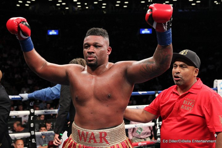 Fres Oquendo Jarrell Miller Boxing News