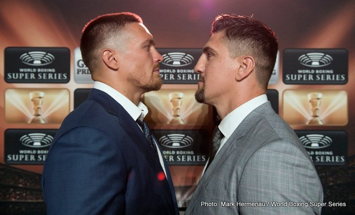 Marco Huck, Oleksandr Usyk - Tickets on sale! Usyk and Huck ready for Muhammad Ali Trophy opener in Max-Schmeling-Halle, Berlin