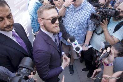 Badou Jack Conor McGregor Floyd Mayweather Nathan Cleverly