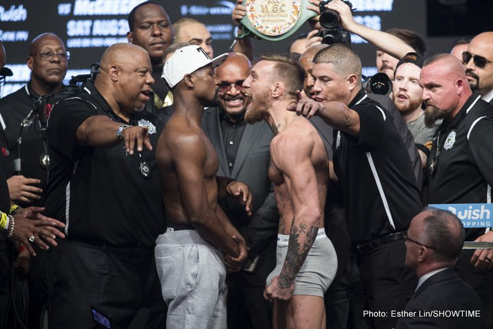 Conor McGregor Floyd Mayweather Jr Miguel Cotto