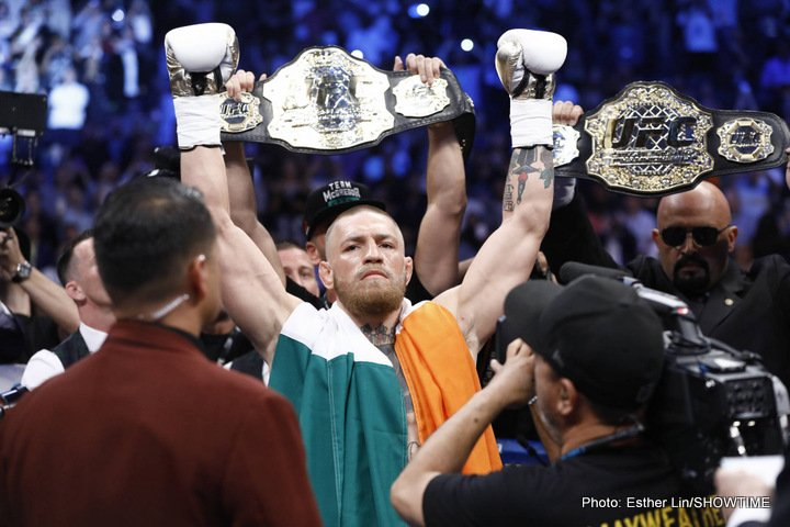 Conor McGregor Manny Pacquiao Boxing News