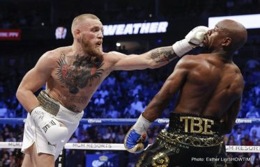 Conor McGregor Floyd Mayweather Jr
