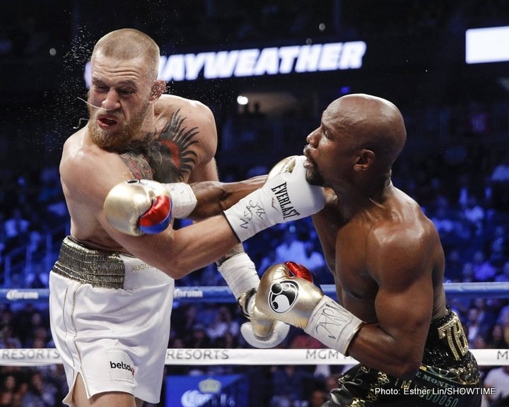 Bob Arum, Conor McGregor, Floyd Mayweather Jr - Boxing News
