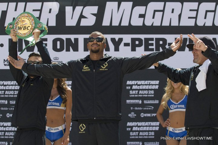 Badou Jack Conor McGregor Floyd Mayweather Nathan Cleverly Boxing News