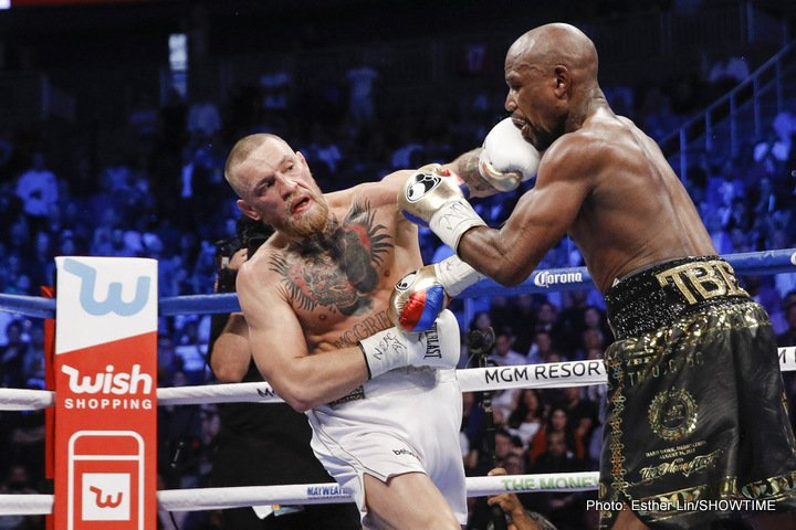 Conor McGregor, Floyd Mayweather Jr - Boxing News