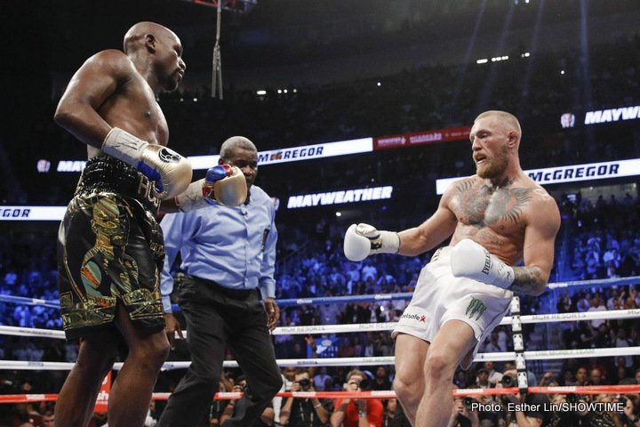 Conor McGregor: I Won Rounds And Hit Mayweather More Times Than Pacquiao Did When They Fought