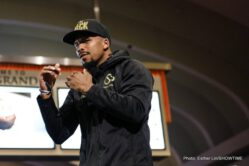 Badou Jack, Francisco Fonseca, Gervonta Davis, Nathan Cleverly - Mayweather vs. McGregor fight week continued on Wednesday after the main event final press conference with open media workouts for fighters competing on the undercard this Saturday, Aug. 26 from T-Mobile Arena in Las Vegas.
